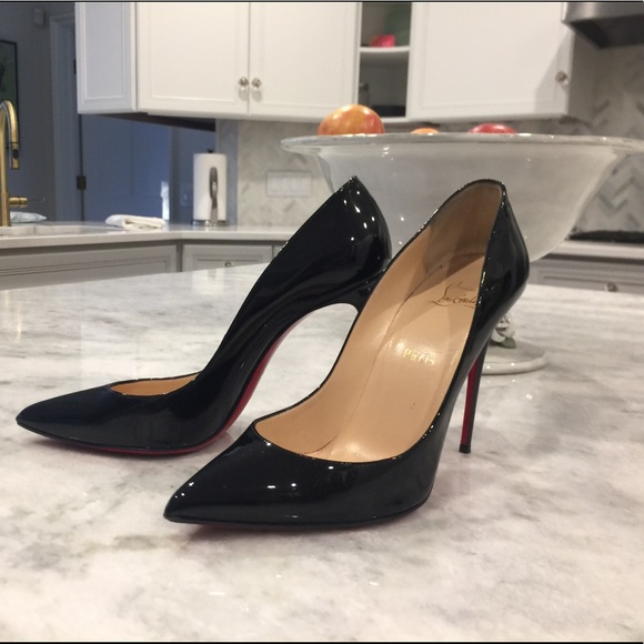 buy online 8bbbe 8cfe6 Christian Louboutin Pigalle Follies Patent size 40